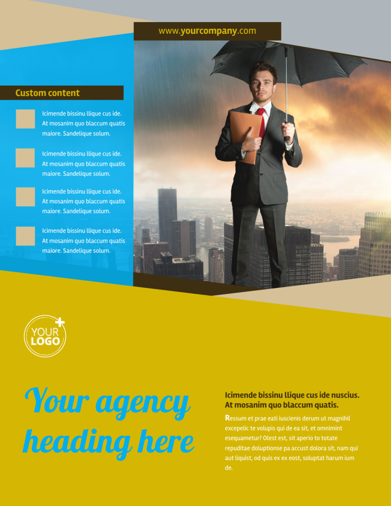 Business Insurance Flyer Template Preview 2