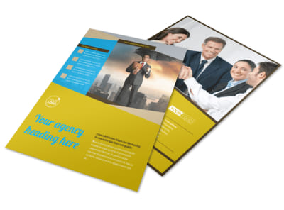 Business Insurance Flyer Template