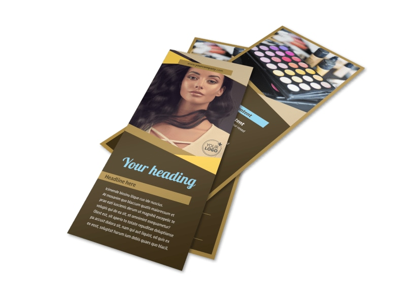 Makeup Artist Flyer Template 2