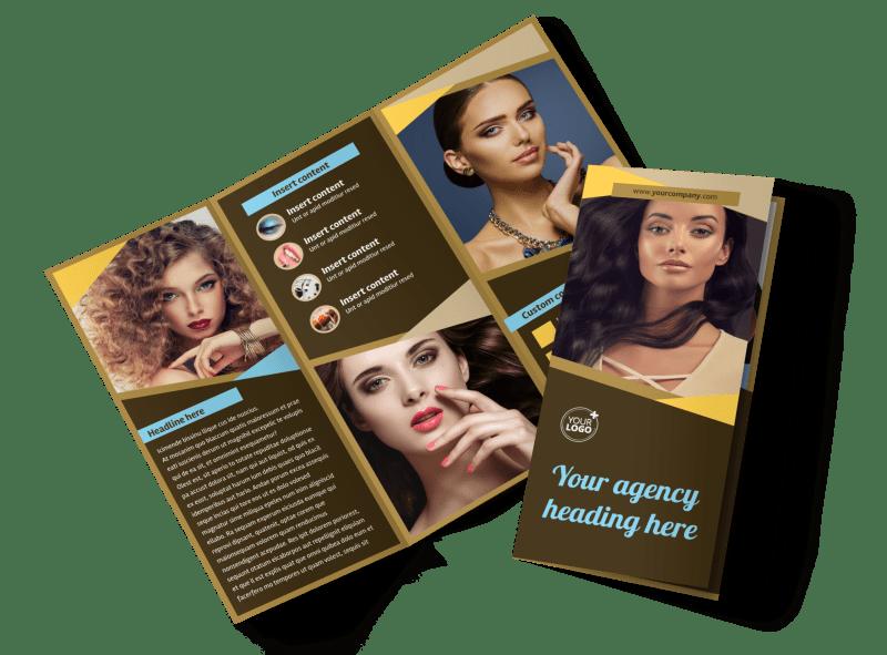 makeup artist brochure template