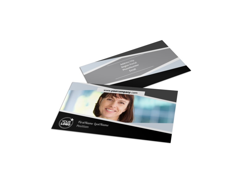 Transcripts Translation Service Business Card Template