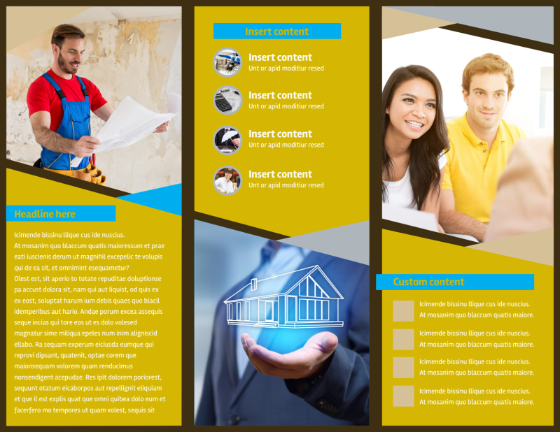 Business Insurance Brochure Template Preview 3