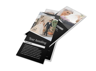 Wedding Video Service Flyer Template 2