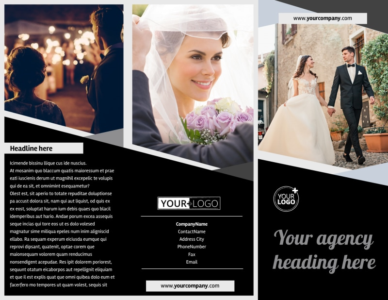 Wedding Video Service Brochure Template Preview 2