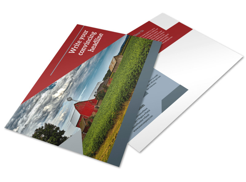Farmers Insurance Postcard Template