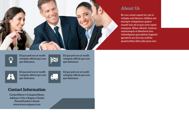 Farmers Insurance Postcard Template Preview 3
