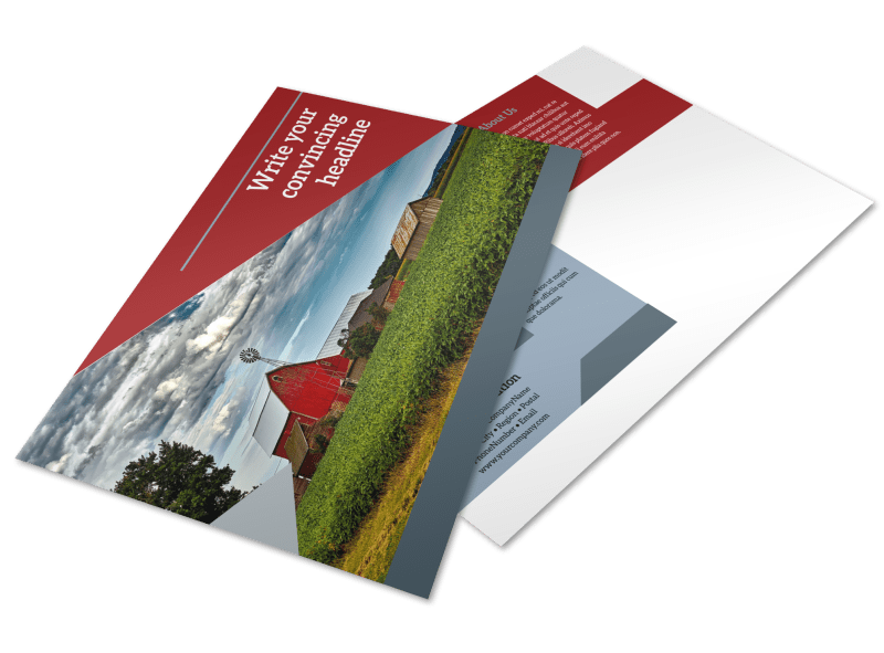 Farmers Insurance Postcard Template Preview 1