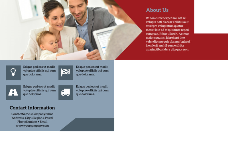 Adoption Agency Postcard Template Preview 3