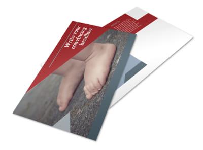 Adoption Agency Postcard Template