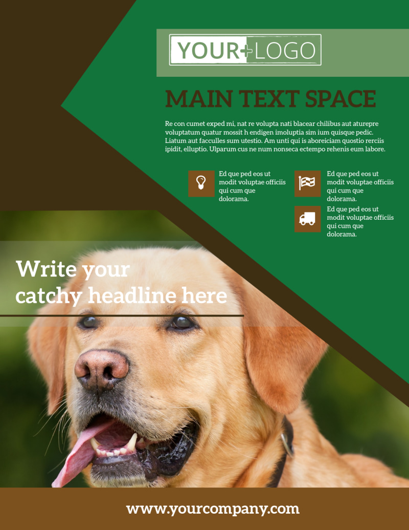 Pet Kennels Flyer Template Preview 2
