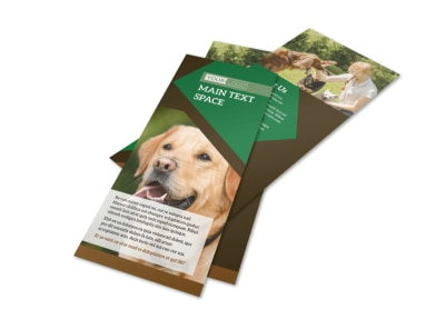 Dog Kennel & Pet Day Care Flyer Template 2
