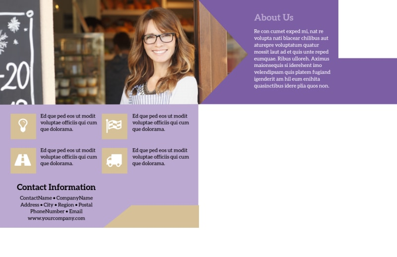 Gift Shop Postcard Template Preview 3