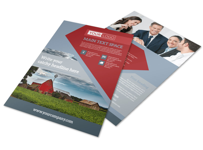 Farmers insurance flyer template mycreativeshop for Aspx login page template