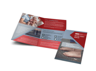 Adoption Agency Bi-Fold Brochure Template