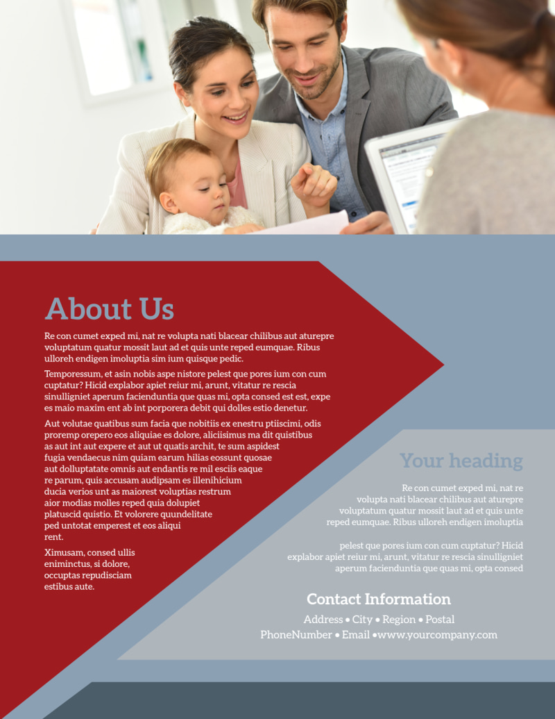 Adoption Agency Flyer Template Preview 3