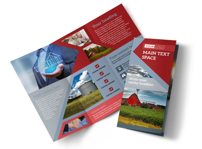 Farmers Insurance Brochure Template Preview 4