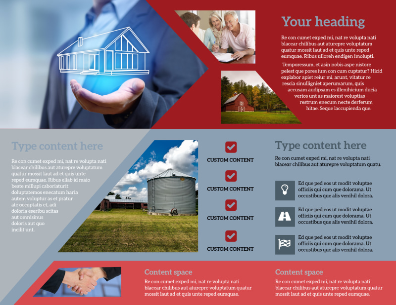 Farmers Insurance Brochure Template Preview 3