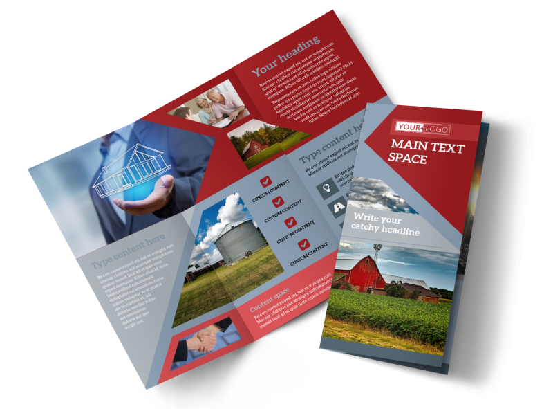 Farmers Insurance Brochure Template Preview 1