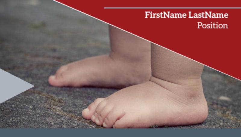 Adoption Agency Business Card Template Preview 2