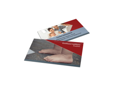 Adoption Agency Business Card Template