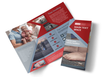 Adoption Agency Tri-Fold Brochure Template