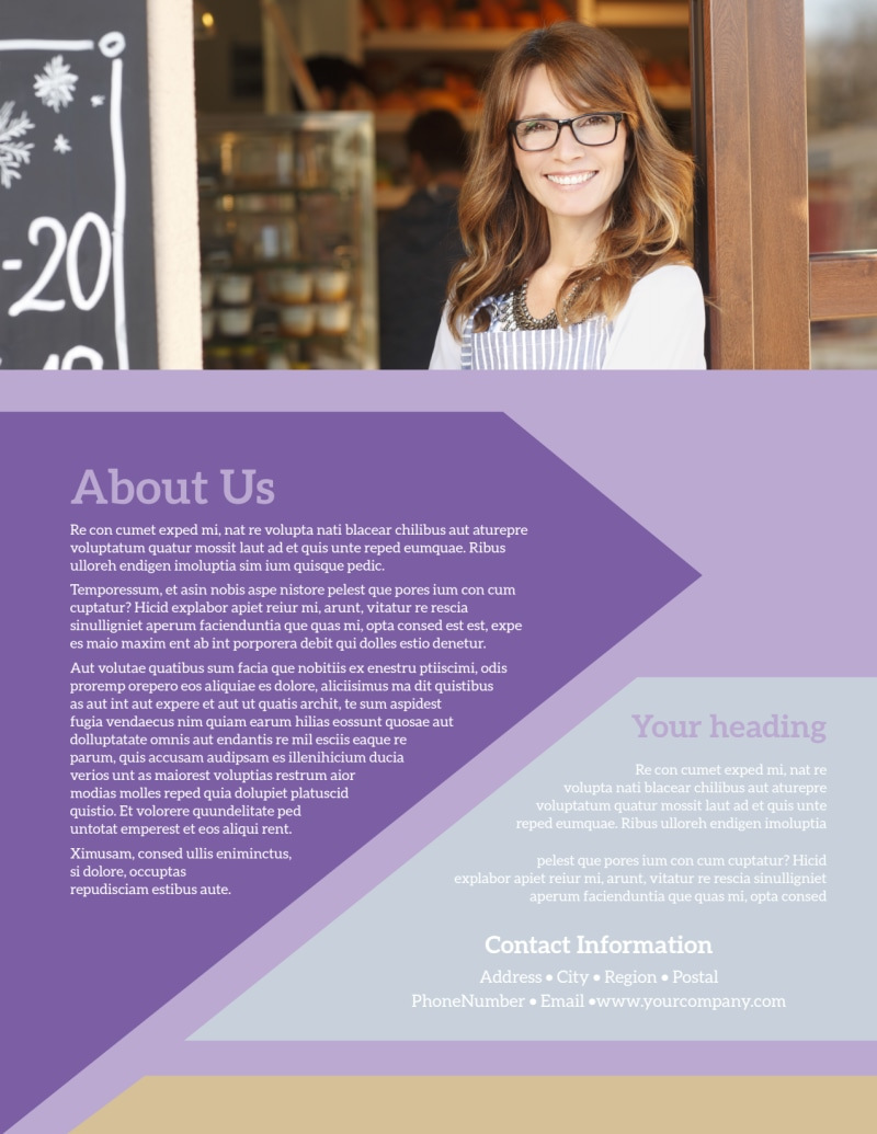 Gift Shop Flyer Template Preview 3