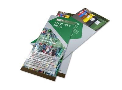 Litter & Recycling Center Flyer Template 2 preview
