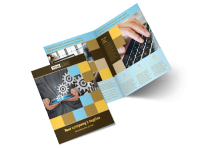 Information Technology Consultants Brochure Template 2