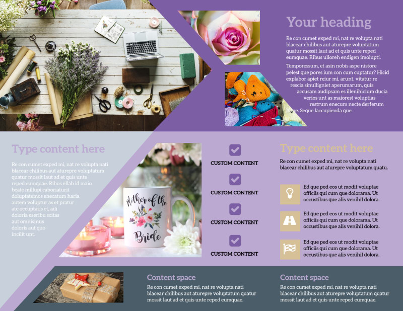 Gift Shop Brochure Template Preview 3