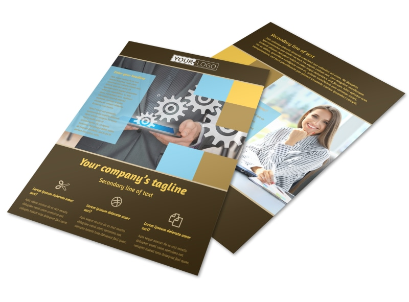 It Consultants Brochure Template | Mycreativeshop