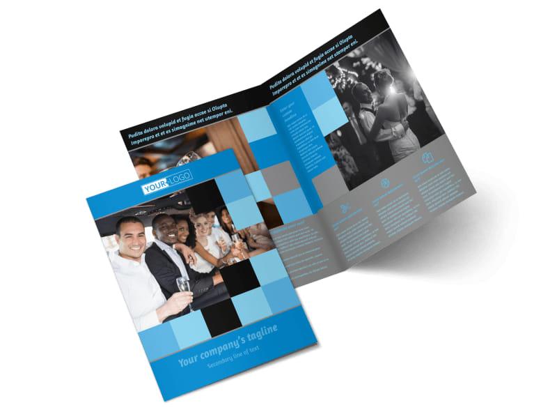 Party Bus Bi-Fold Brochure Template 2