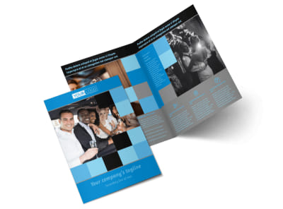 Party Bus Bi-Fold Brochure Template 2