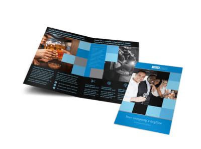 Party Bus Bi-Fold Brochure Template