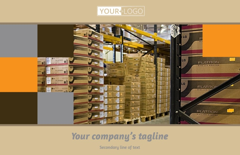 Warehouse & Distribution Center Postcard Template Preview 2