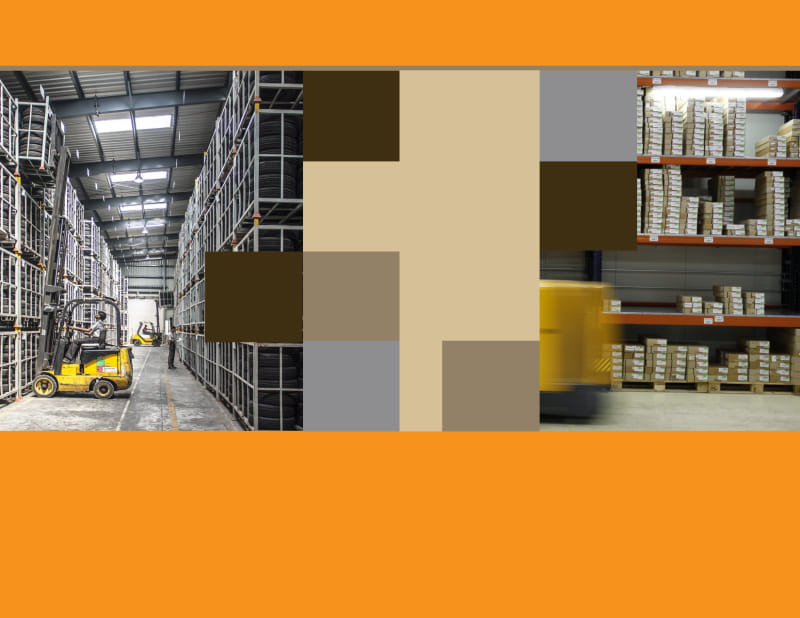 Warehouse & Distribution Center Brochure Template Preview 3