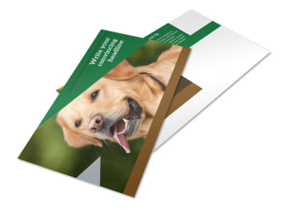 Dog Kennel & Pet Day Care Postcard Template 2 preview