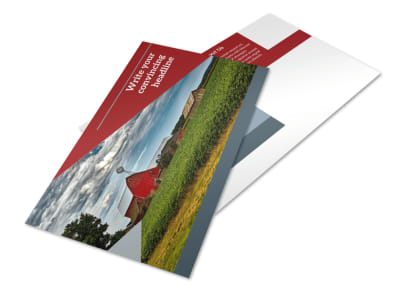 Farmers Insurance Postcard Template 2 preview