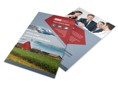 Farmers Insurance Flyer Template 3