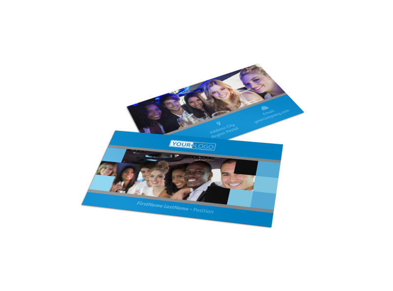 Party Bus Business Card Template Preview 4