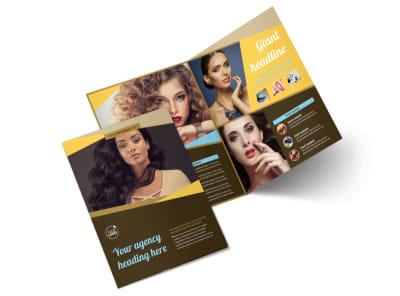 Makeup Artist Bi-Fold Brochure Template 2