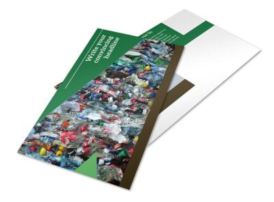 Litter & Recycling Center Postcard Template 2 preview