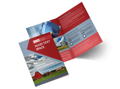 Farmers Insurance Bi-Fold Brochure Template 2