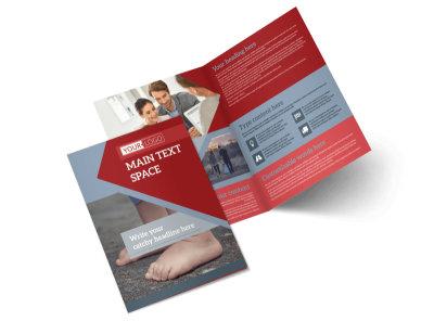 Adoption Agency Bi-Fold Brochure Template 2
