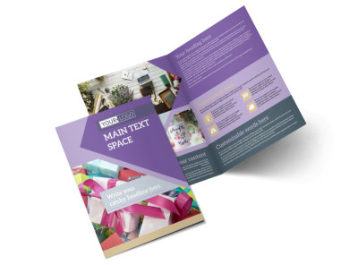 Gift Shop Bi-Fold Brochure Template 2