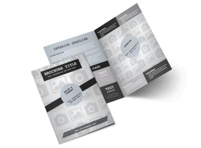 Generic Bi-Fold Brochure Template 8636