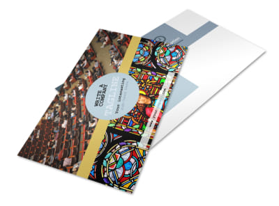 Church Event Postcard Template 2 preview