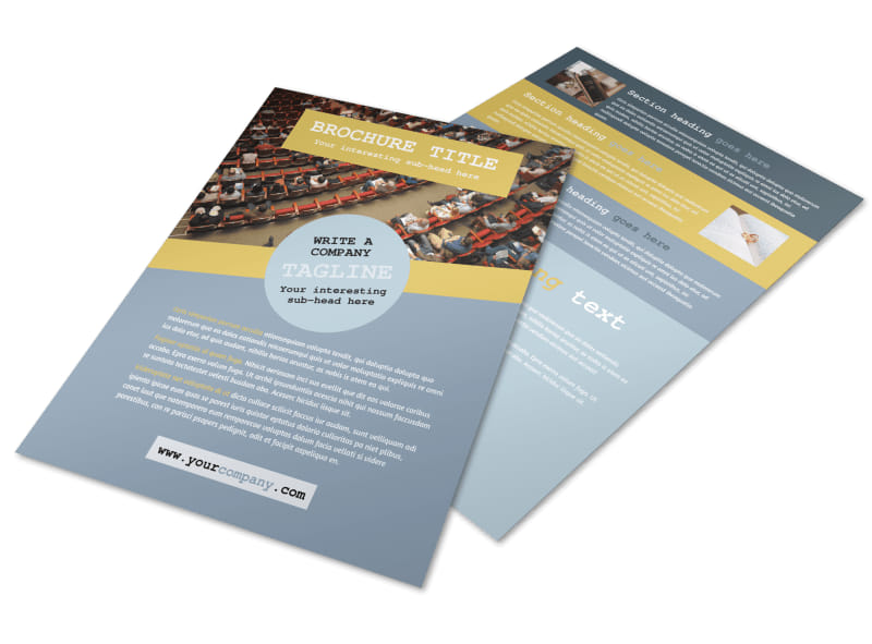 Church Event Flyer Template Preview 4