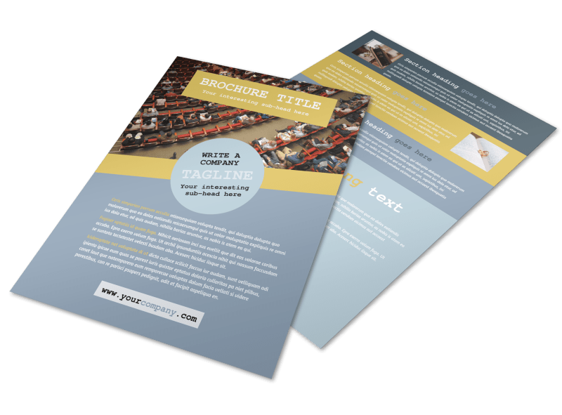 Church Event Flyer Template Preview 1