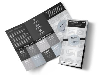 Generic Tri-Fold Brochure Template 8642