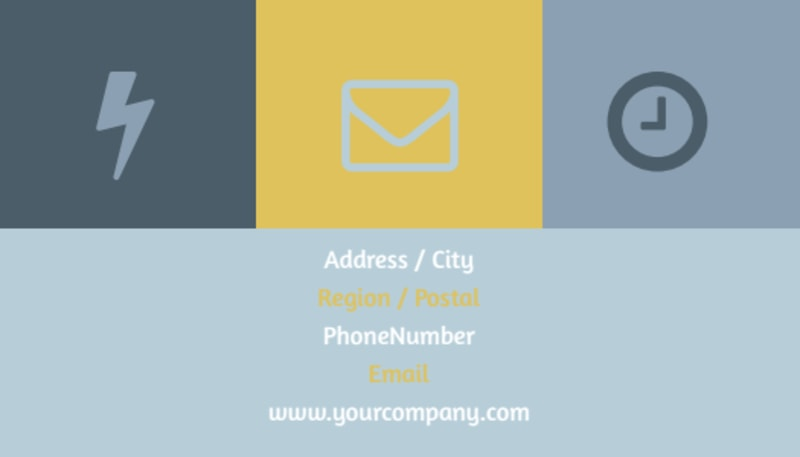 Church Event Business Card Template Preview 3